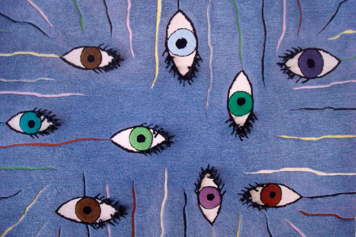 Eyes carpet